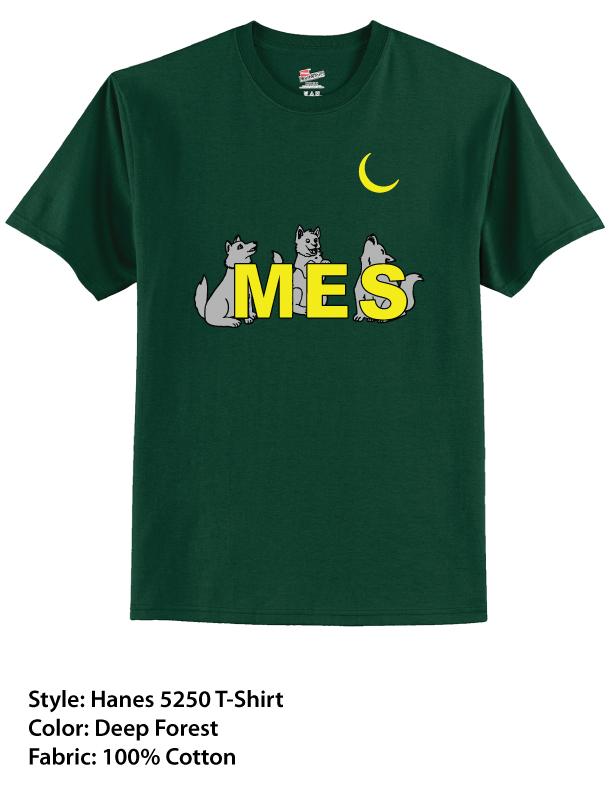 MES Hanes Cotton T-Shirt