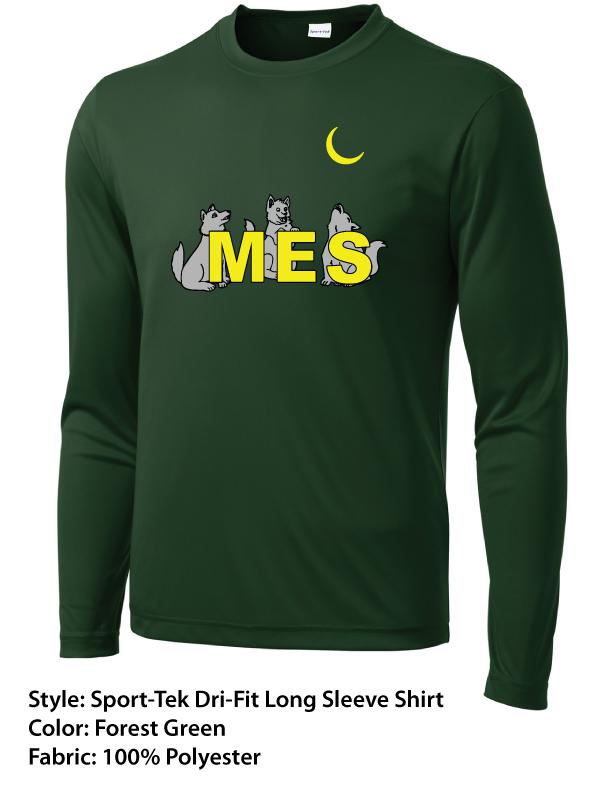 MES Sport-Tek Dri-Fit Long Sleeve Shirt