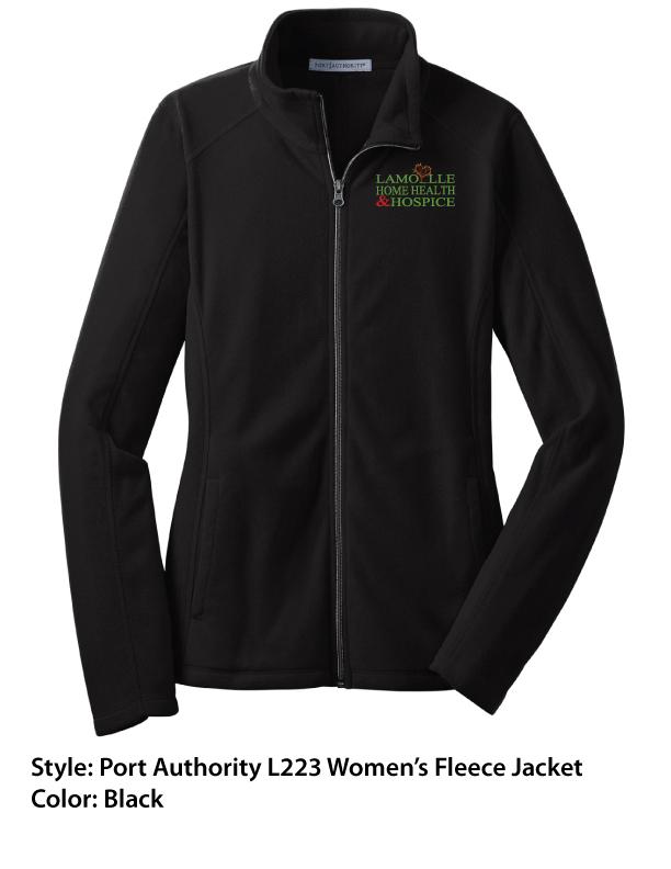 Port Authority Fleece Jacket – Black