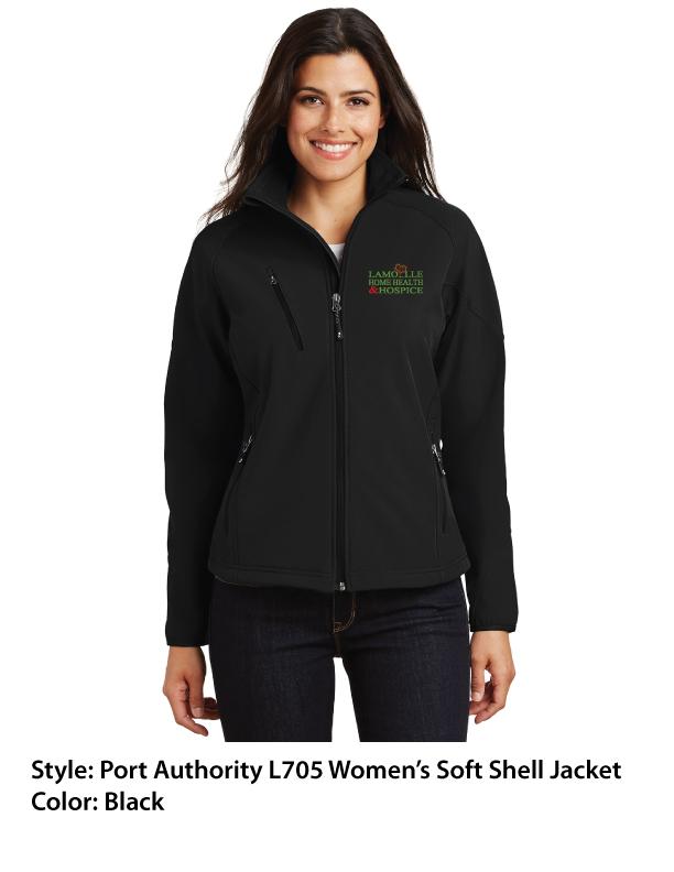 Port Authority Soft Shell Jacket – Black