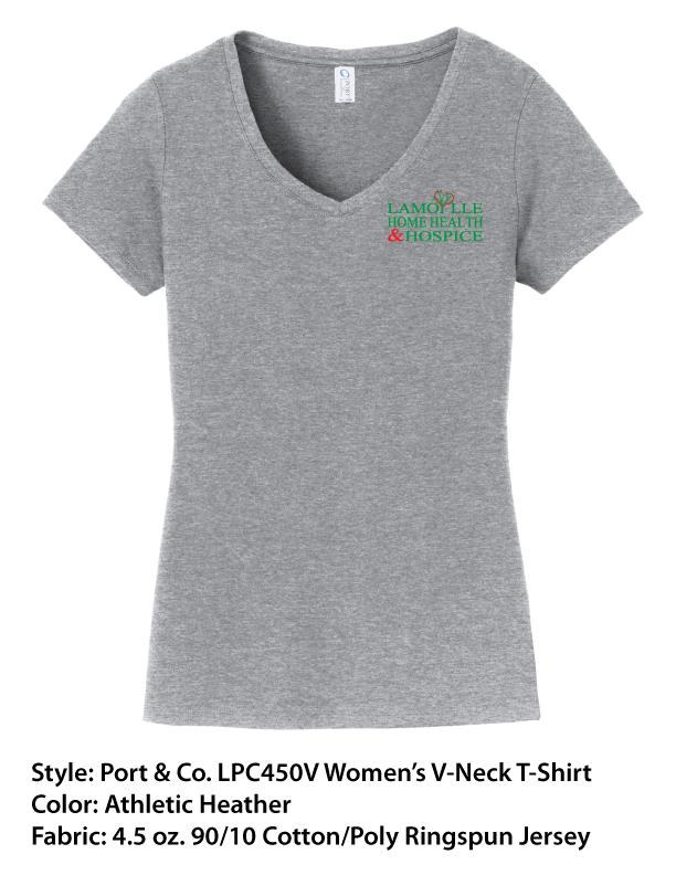 Port & Co. Men's T's & Women's V-Neck T's
