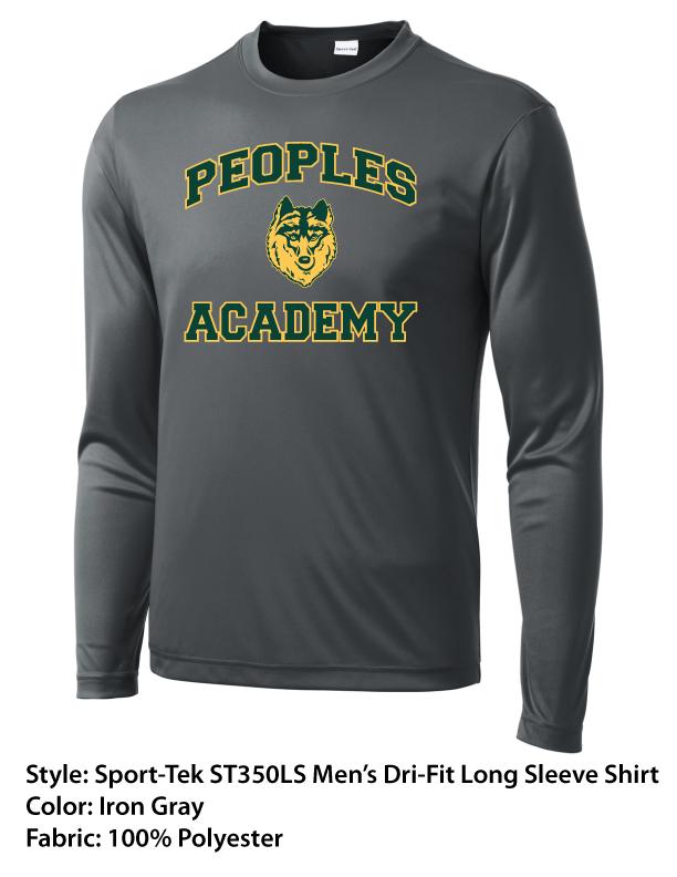 Peoples Academy | Sport-Tek Dri-Fit Long Sleeve Shirts