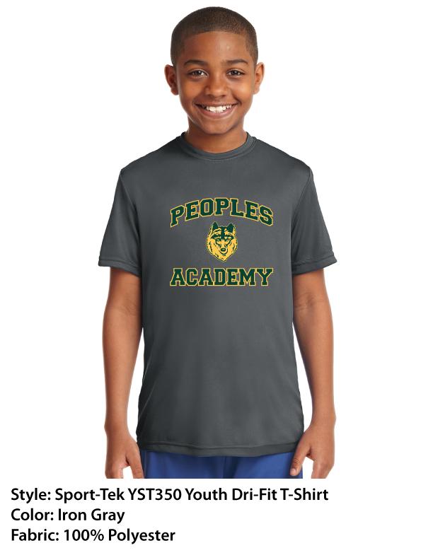 Peoples Academy | Sport-Tek Dri-Fit T-Shirts