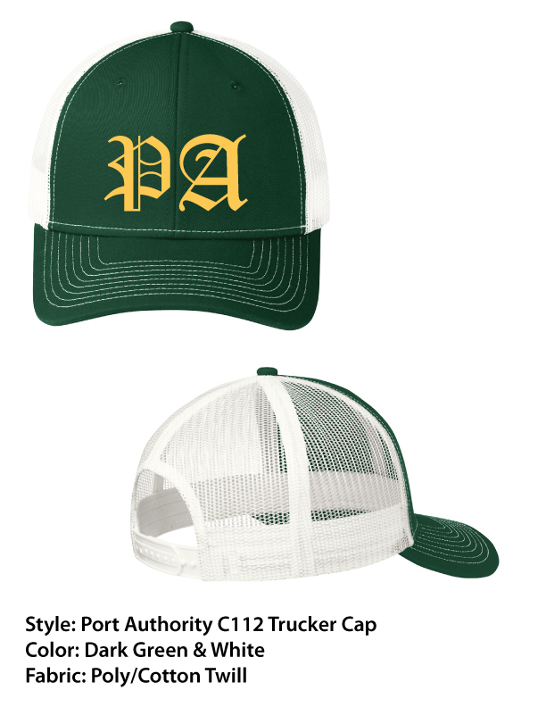 Peoples Academy | Port Authority Snap Back Trucker Cap