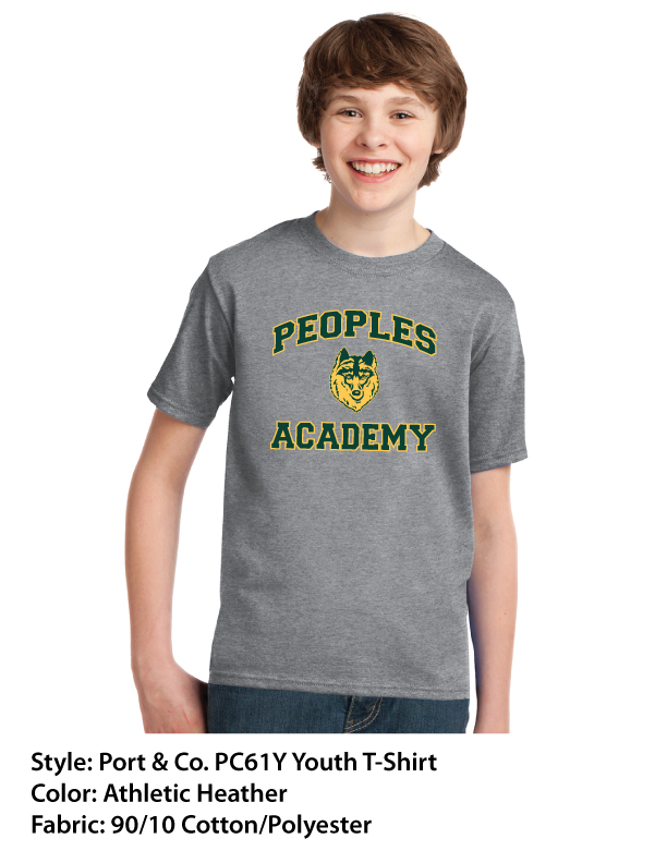 Peoples Academy | Port & Co. T-Shirts