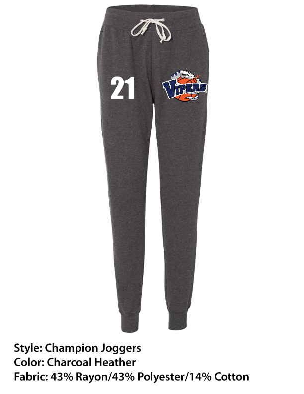 Vipers Champion Women's Joggers – Full Color Print